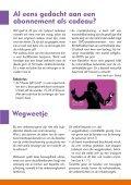 In dit nummer: Energie besparen Bob en feesten Bubbels in het glas - Page 7