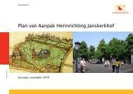 Plan van Aanpak Herinrichting Janskerkhof - D66 Utrecht