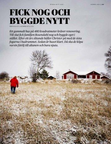 Bygga Nytt Hus nr 1 - Fiskarhedenvillan