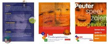 Samen leren spelen is spelenderwijs leren! - SPSH - Stichting ...