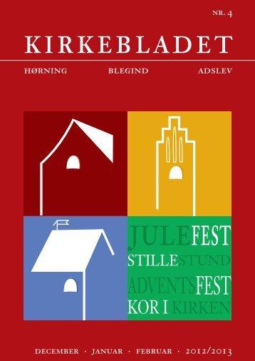 kirkebladet - Hørning, Blegind og Adslev Kirker
