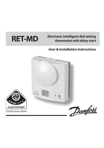 Danfoss Randall Wp7bh Wp75 Rf Programmable Bhl