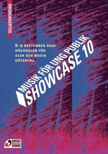 Showcase10 - hela programmet, artisterna och föreläsarna