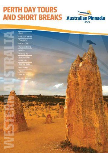 Western Australia Tours from Pinnacle 2013-14 - msltravel.com
