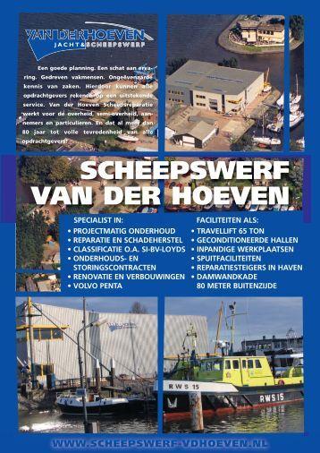 Klik voor om onze brochure te downloaden - Scheepswerf Van der ...