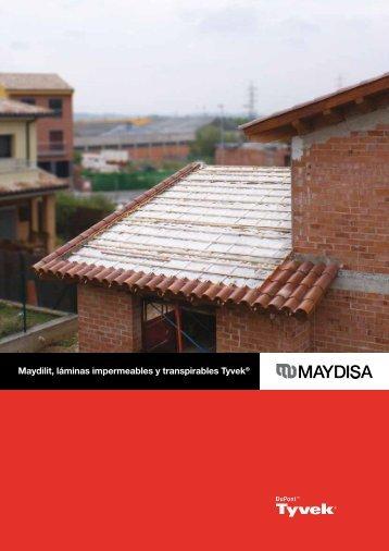 Maydilit, láminas impermeables y transpirables Tyvek® - Maydisa
