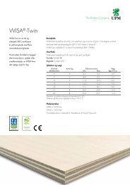 WISA®-Twin - WISA® plywood and veneer