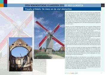 Visuele Prikkels - Open Monumentendag Vlaanderen