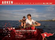 Langdistance-kaproning 111.119 - Amager Ro- og Kajakklub
