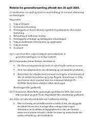 Referat 2004 - Grundejerforeningen Lynge Nord