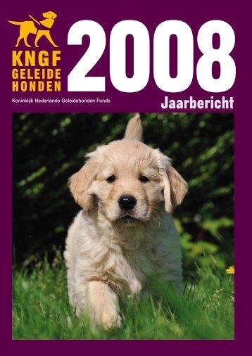 Jaarbericht 2008 - KNGF Geleidehonden