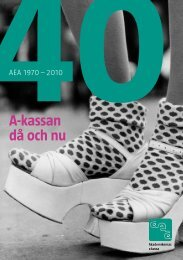 2010 l Arbetslöshetsrapport - AEA