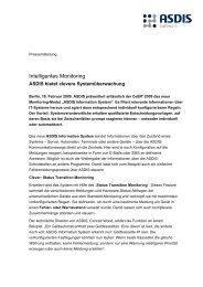 Intelligentes Monitoring - BC Brandenburg Capital