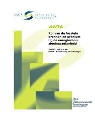 Rol van Fossiele bronnen: rapport - Instituut Samenleving en ...