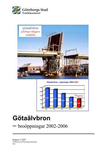(Götaälvbron Rapp 070514) - Göteborg