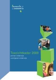 Toezichtkader 2009 po vo - Avs