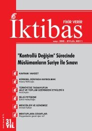 eylül 2011 sayısı - İktibas Dergisi