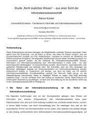 Prof. Dr. Rainer Kuhlen