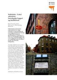 Sofiebadet - Lokal arkitektur, bæredygtigt byggeri ... - Byens Netværk