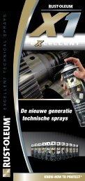 De nieuwe generatie technische sprays