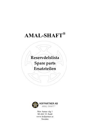 AMAL-SHAFT