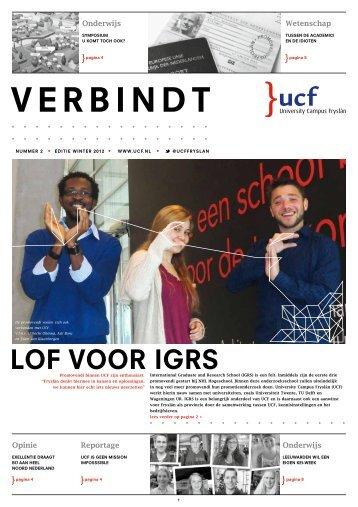 Wintereditie 2012 - University Campus Fryslân