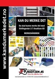 Merkehåndbok - Sivilingeniør JF Knudtzen AS