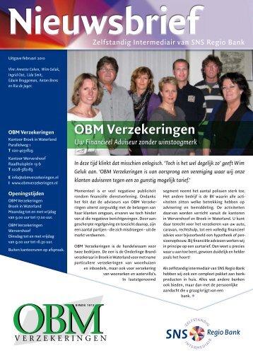 Spaar - OBM Verzekeringen
