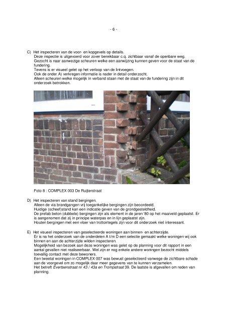 Funderingsonderzoek Van Dijke juni 2010 (pdf) - Portaal
