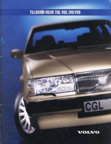Volvo tillbehörskatalog 700/900 ca 1999-2000