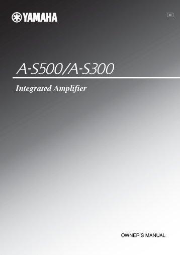 Integrated Amplifier - EXCELIA HIFI
