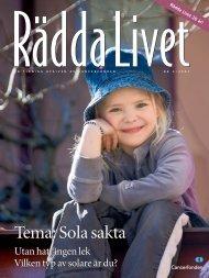 Rädda Livet nr 2, 2007 - Cancerfonden