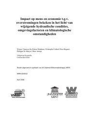 Impact op mens en economie t - Milieurapport Vlaanderen MIRA