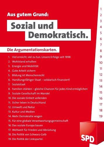 Sozial und Demokratisch. - SPD-Ortsverein Isen