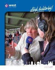 Jaarverslag 2011 - Omroep West