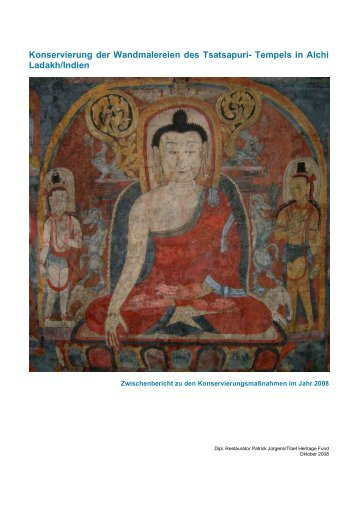 Alchi report_2008 - Tibet Heritage Fund