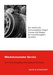 Wachstumsmotor Service - Bain & Company