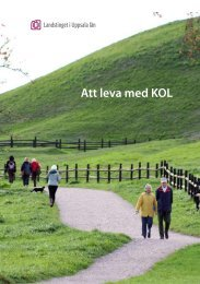 Att leva med KOL - Akademiska sjukhuset