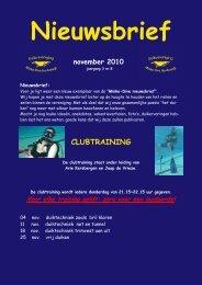November-2010 - Duikvereniging Minke-Dive