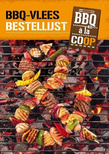 BBQ-VLEES BESTELLIJST - Coop