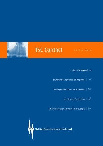 Herfst 2008 - Stichting Tubereuze Sclerosis Nederland