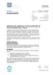 Godkendelse efter vandløbsloven - Esbjerg Kommune