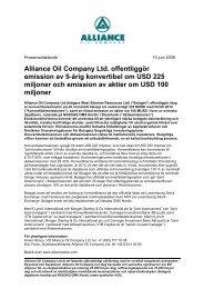 PDF-dokument 214 KB - Alliance Oil