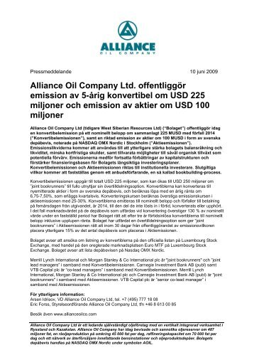 PDF-dokument 214 KB - Alliance Oil