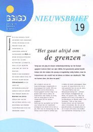 Nieuwsbrief SSGA nr 19 - GGD Amsterdam