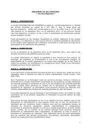 REGLEMENT DU JEU-CONCOURS « Jeu Guy Degrenne » Article 1 ...