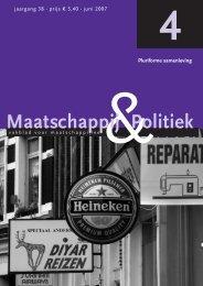 2007-4 - Maatschappij en Politiek Magazine
