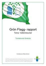 Grön Flagg- rapport - Trosa kommun