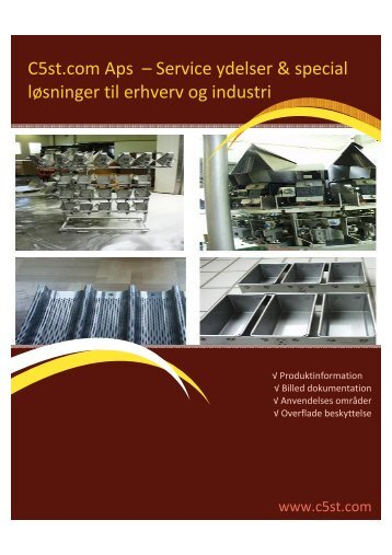 Service ydelser & special løsninger til erhverv og industri