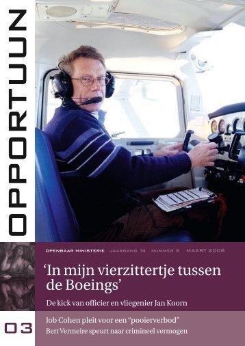 'In mijn vierzittertje tussen de Boeings' - Openbaar Ministerie